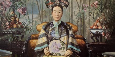 Portrait of Empress Ci Xi