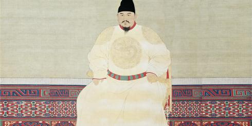 Portrait of Emperor Taizu of the Ming dynasty