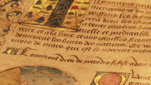 scroll from History of the Book / The Book: Histories Across Time and Space.
