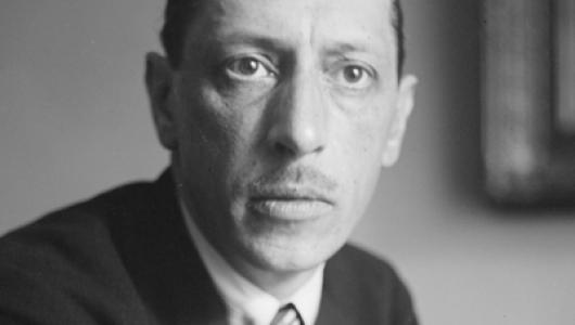 Black and white image of the composer