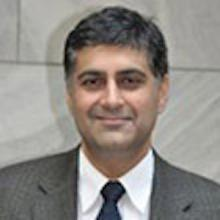 Portrait of Salmaan Keshavjee